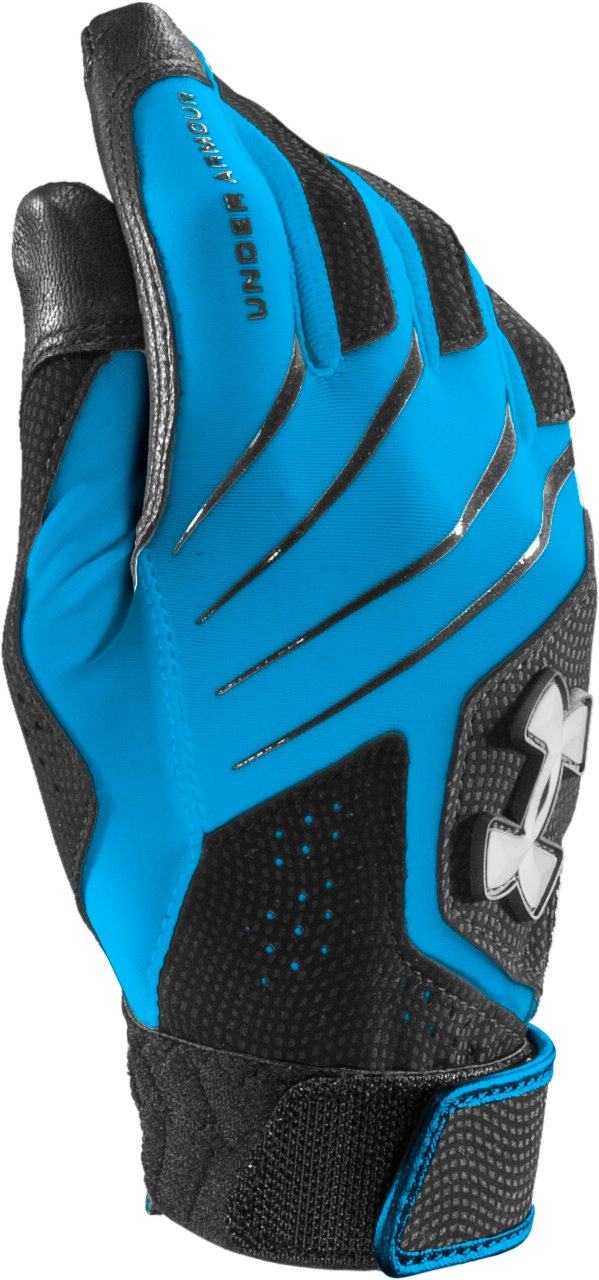 Women's UA Radar III Fastpitch Batting Glove, ELECTRIC BLUE