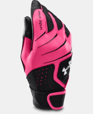 Women's UA Radar III Fastpitch Batting Glove LIMITED TIME: FREE U.S. SHIPPING 1 Color $14.99