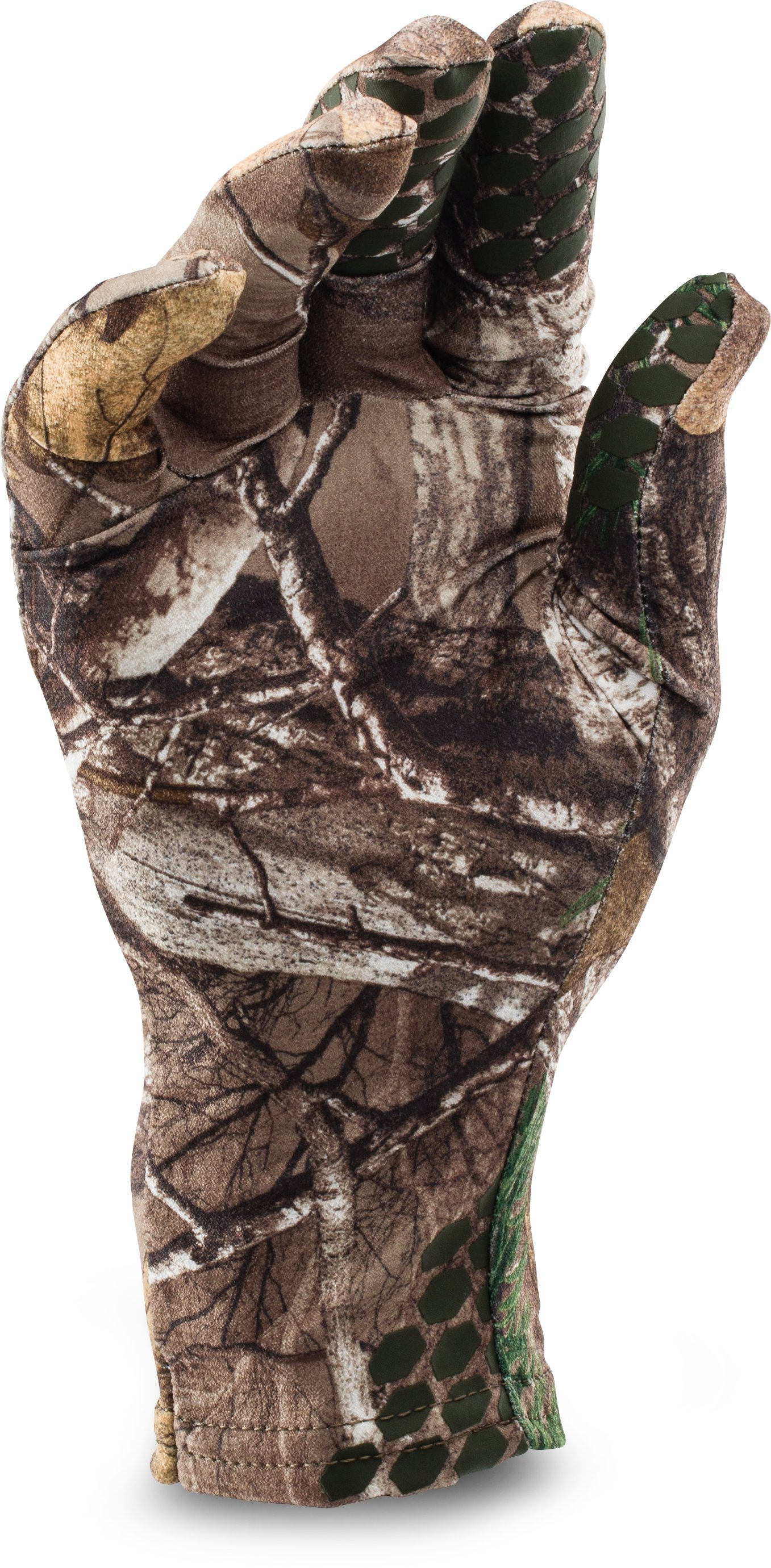 Men's UA Camo HeatGear® Liner Gloves, REALTREE AP-XTRA