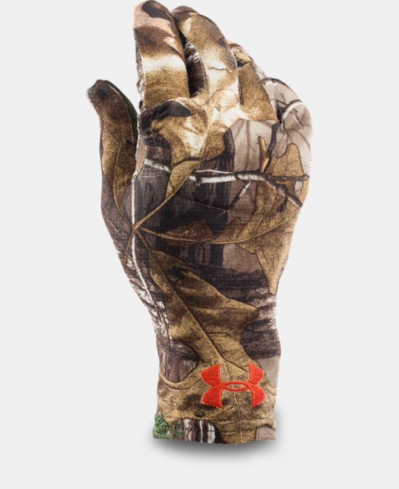 Men's UA Camo HeatGear® Liner Gloves  1 Color $14.99