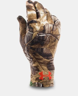 Men's UA Camo HeatGear® Liner Gloves LIMITED TIME: FREE SHIPPING 1 Color $14.99
