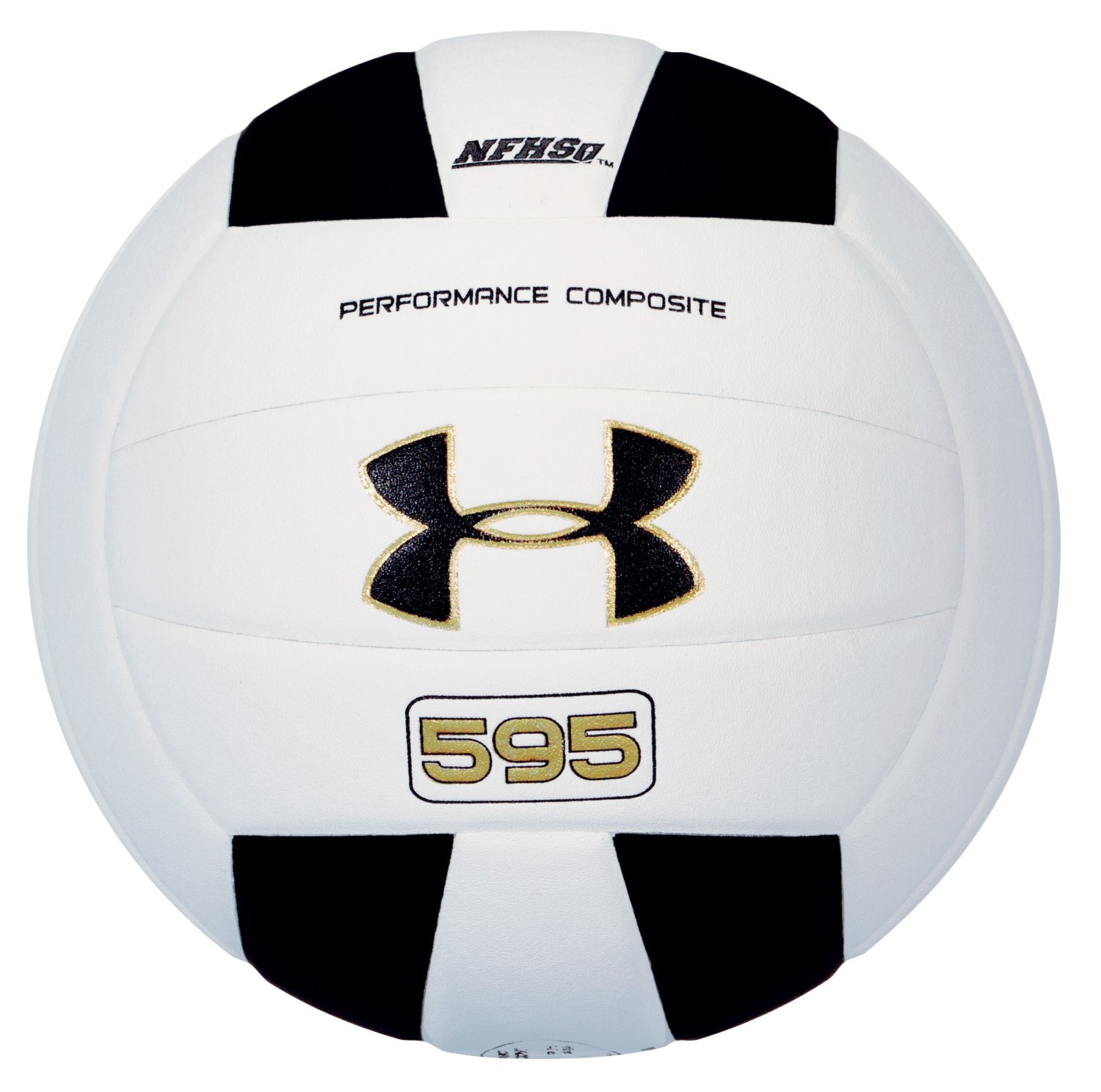 UA 595 Volleyball, White, undefined