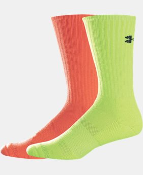 Men's UA Allsport Crew Socks 2-Pack