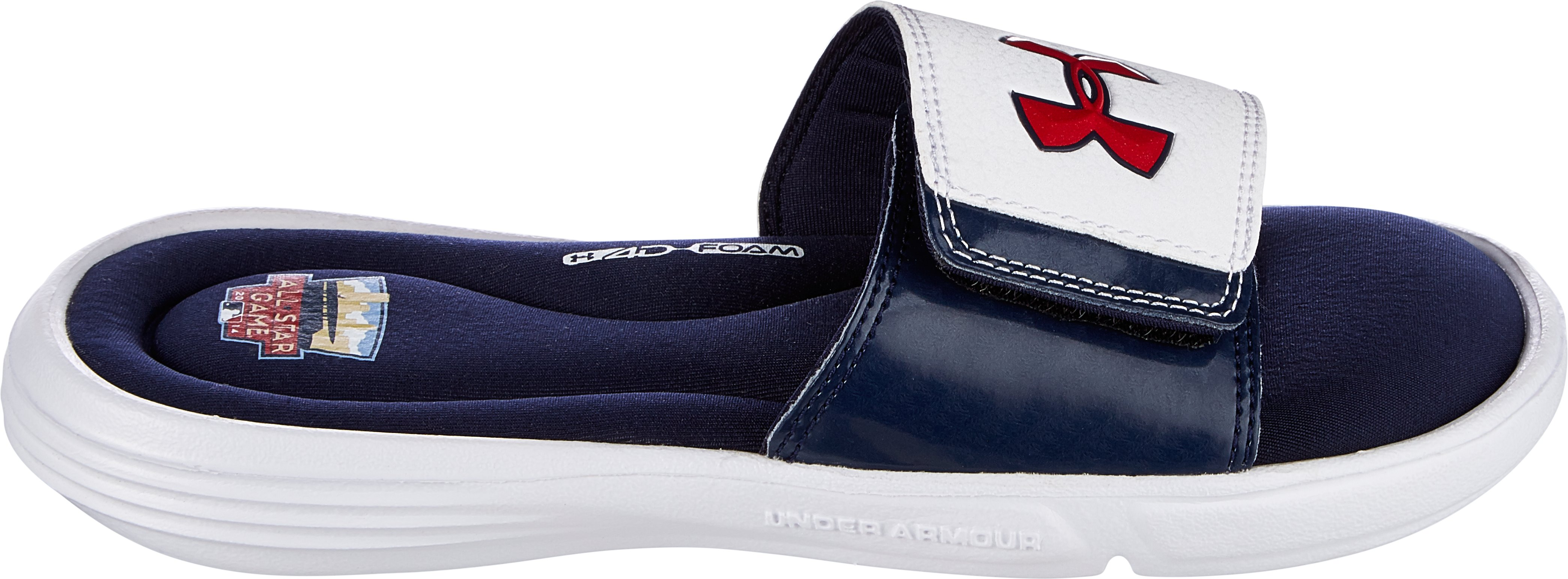 Boys' UA Ignite Sandals — All-Star Game Edition, Midnight Navy