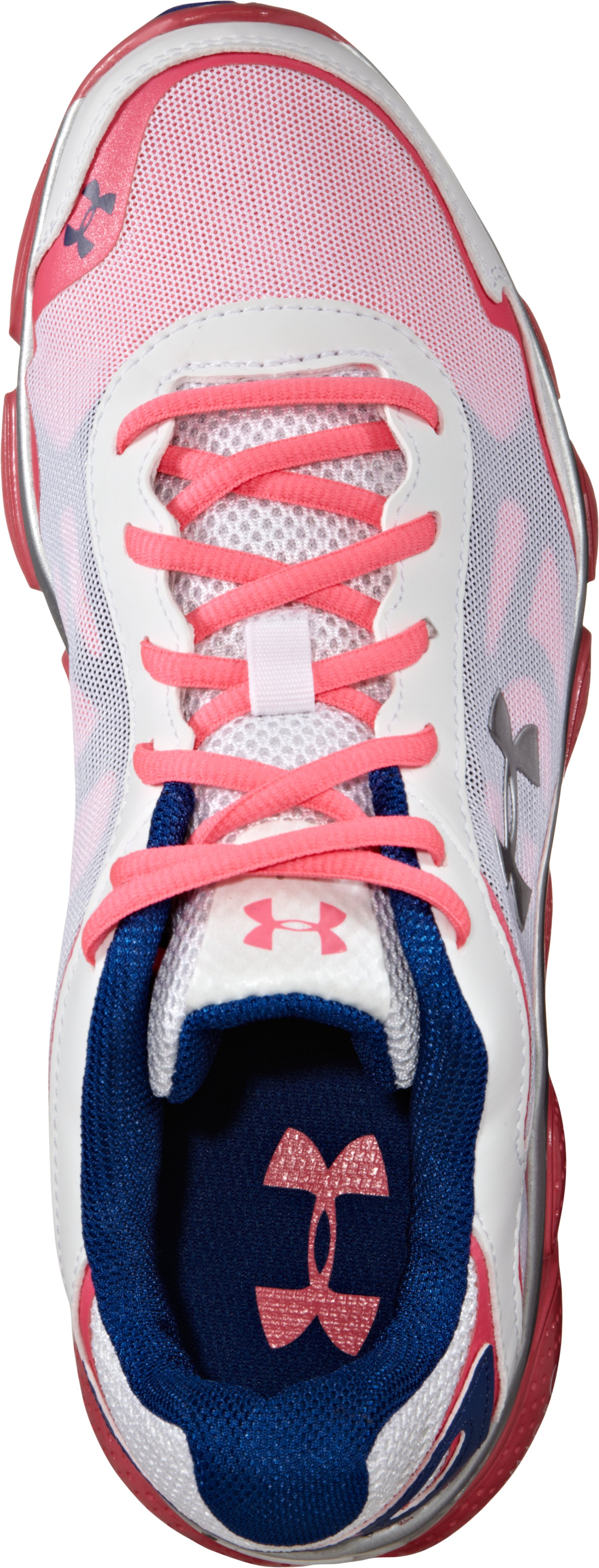 Girls' Grade School UA Micro G® Pulse Running Shoes, Neo Pulse