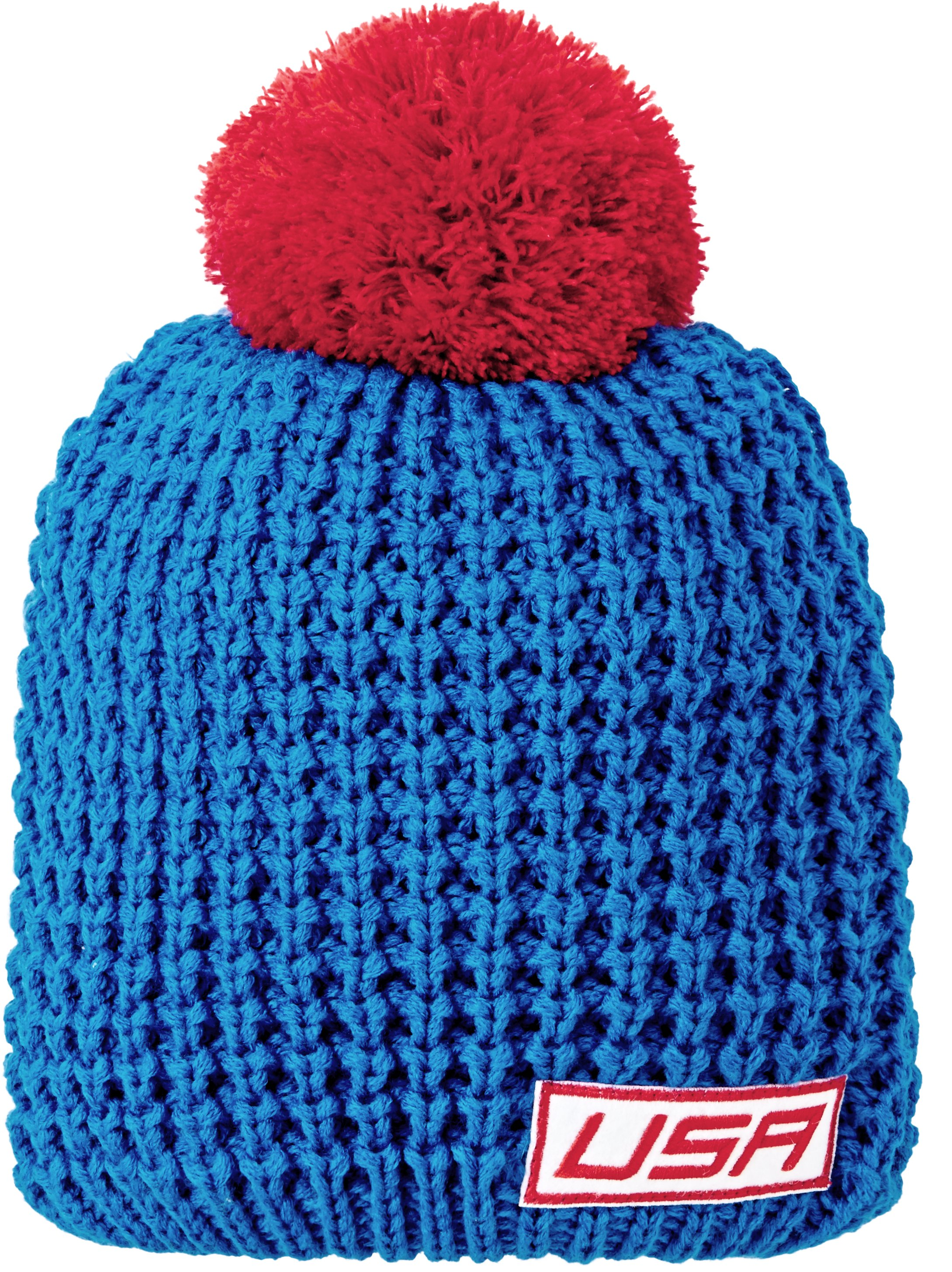 Women's USA Knit Beanie, SCATTER, zoomed image