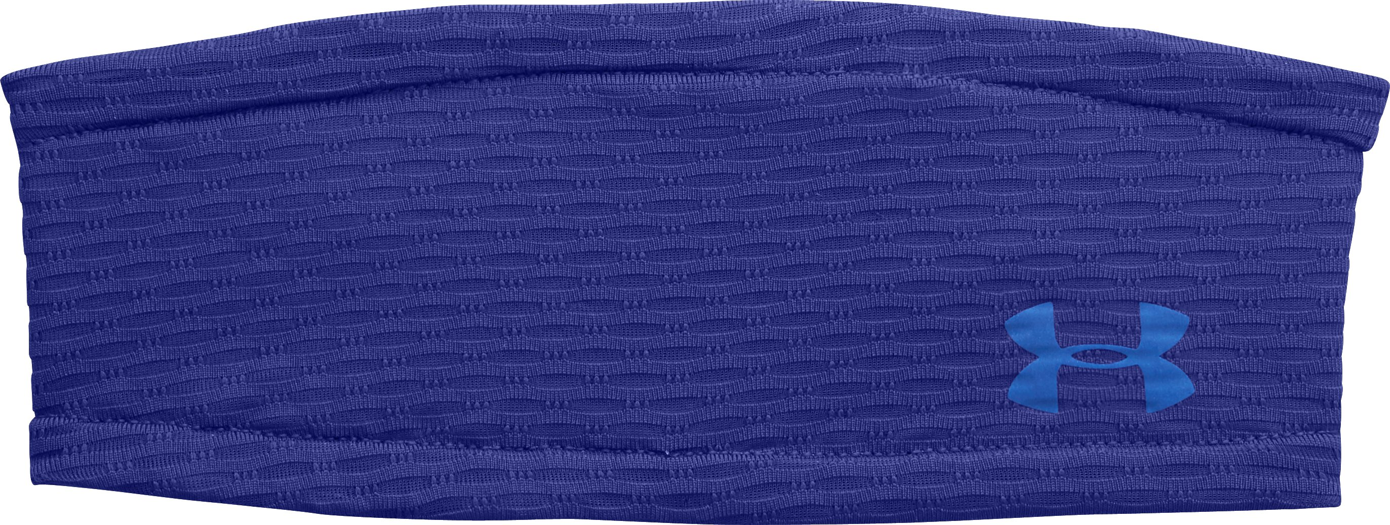 Women's UA Fly-By Headband, SIBERIAN IRIS, zoomed image