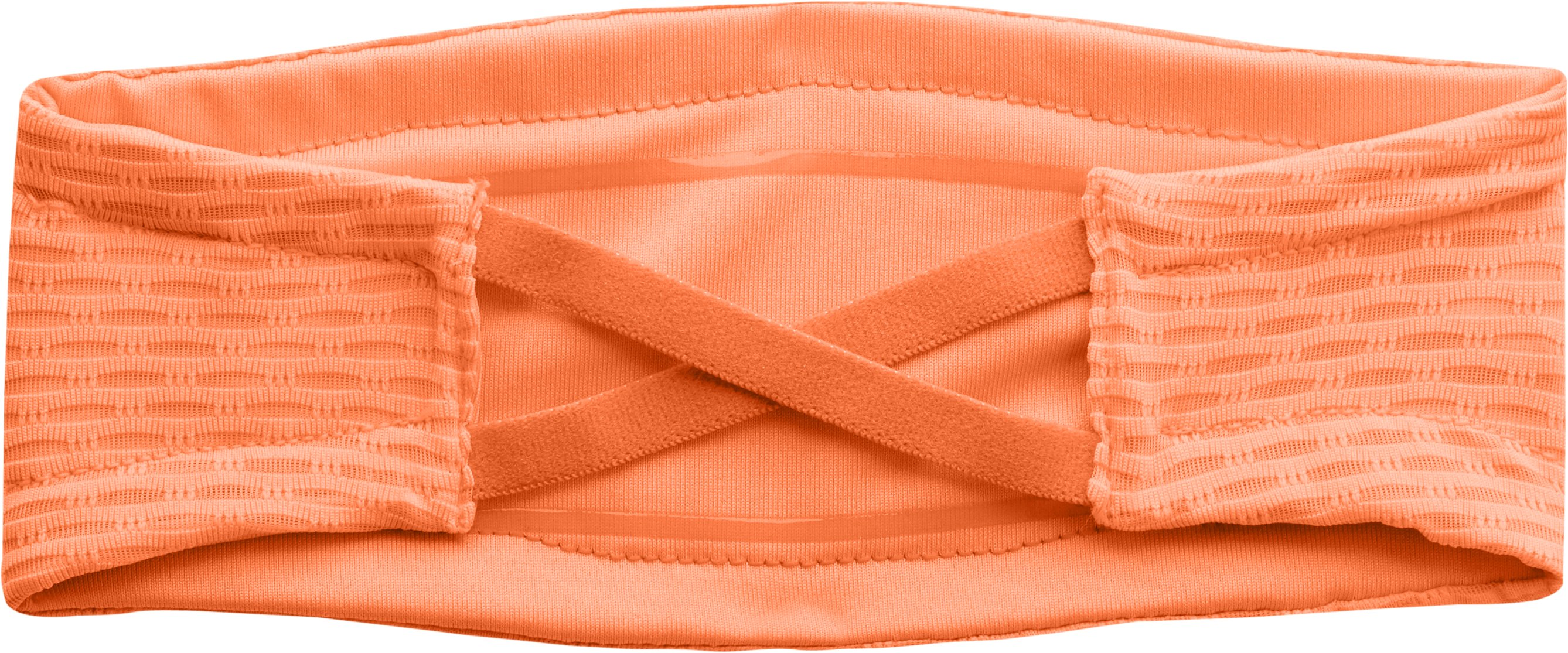 Women's UA Fly-By Headband, CITRUS BLAST