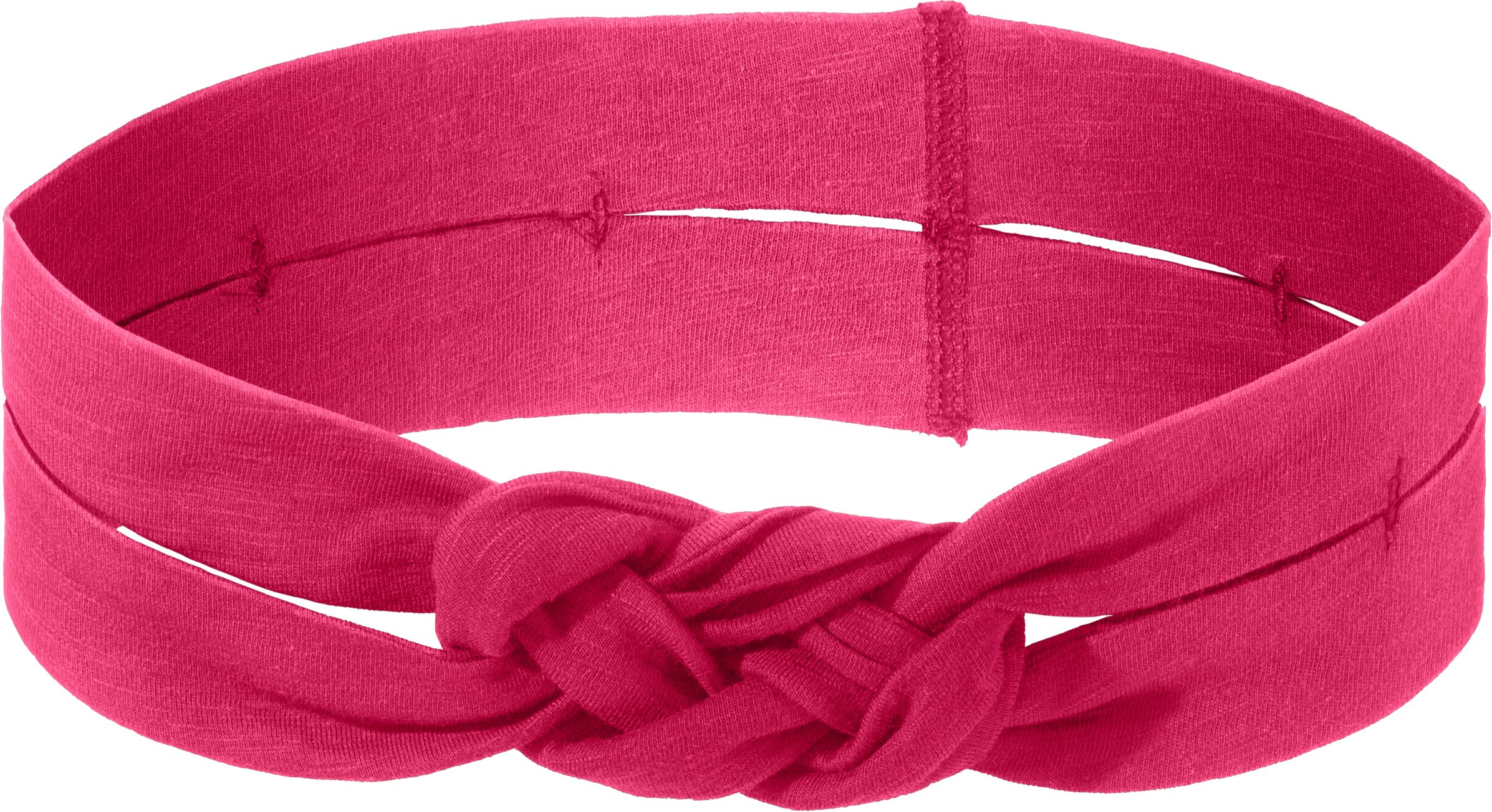 Women's UA Settle In Headband, EXUBERANT PINK