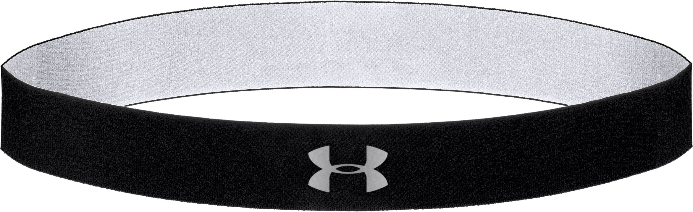 Women's UA Power Thru Headband, Black , zoomed image