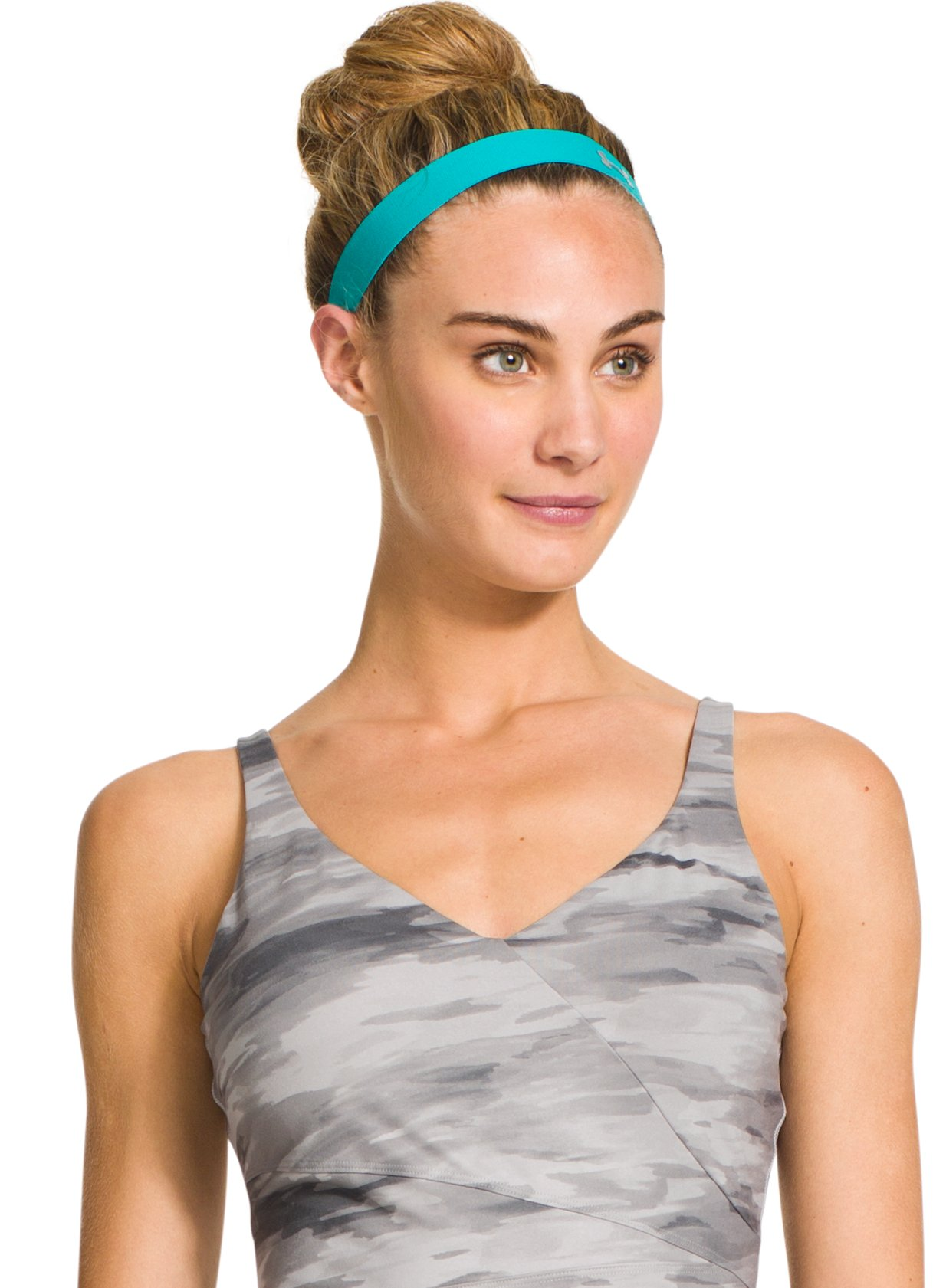 Women's UA Power Thru Headband, AQUEDUCT