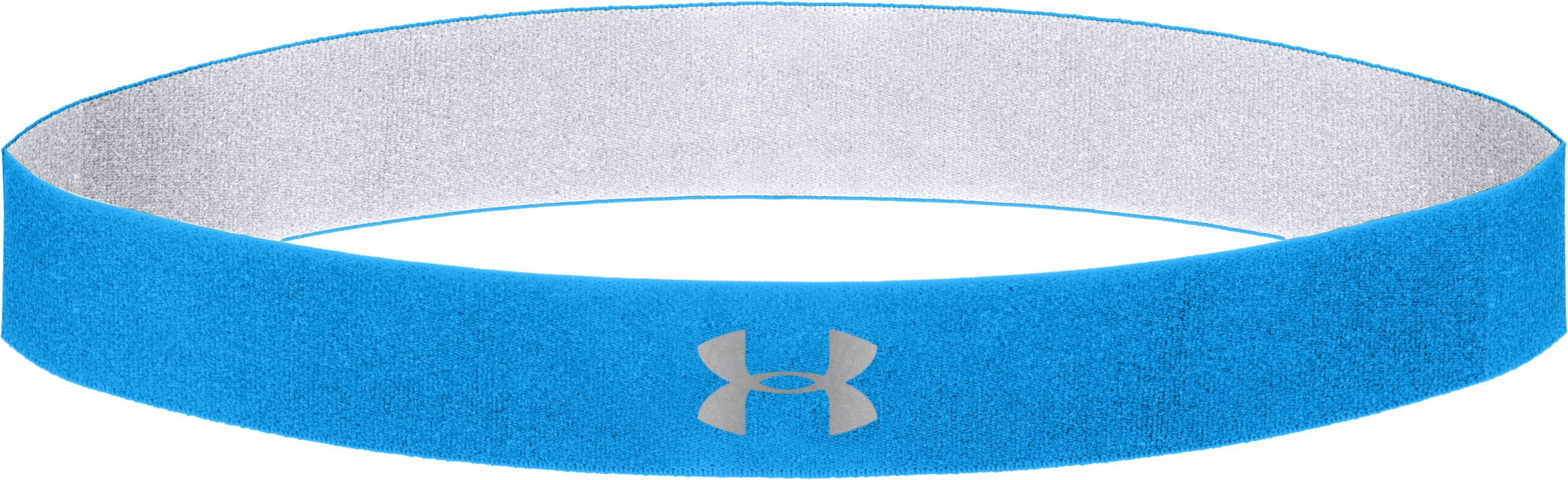 Women's UA Power Thru Headband, ELECTRIC BLUE