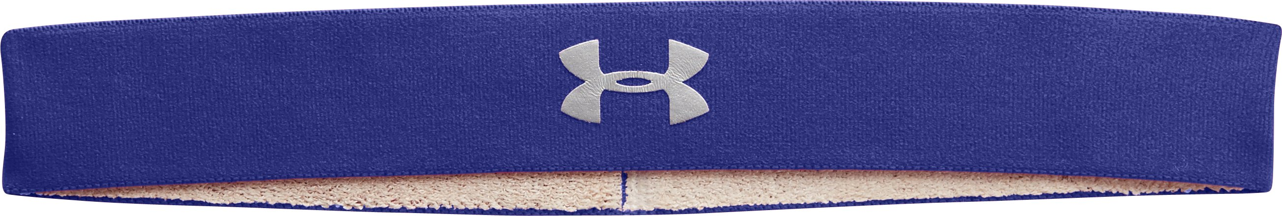 Women's UA Power Thru Headband, SIBERIAN IRIS, zoomed image