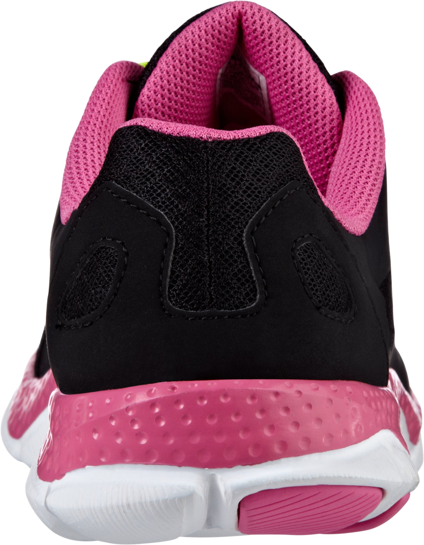 Girls' Grade School UA Micro G® Engage Running Shoes, Black