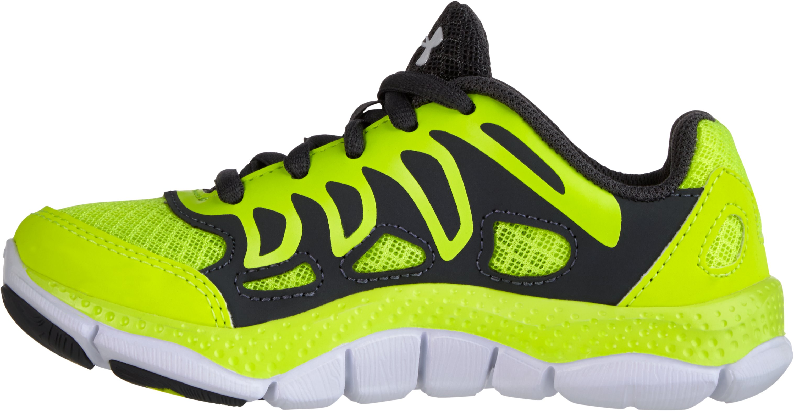 Boys' UA Engage Pre-School Shoes, High-Vis Yellow