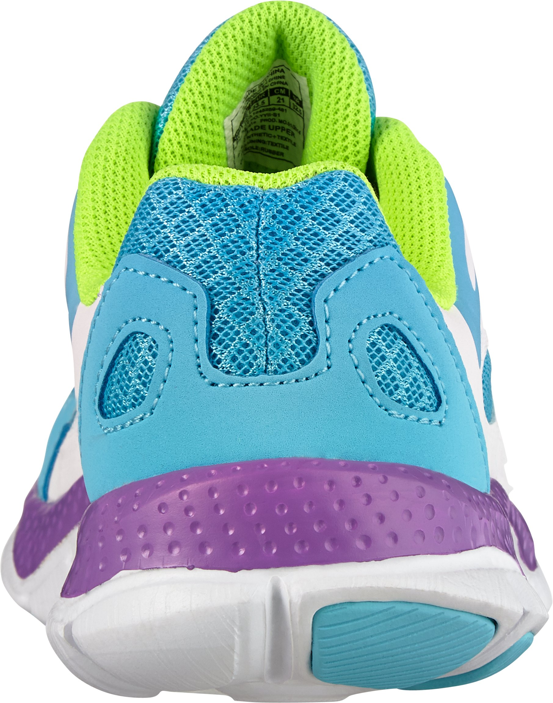 Girls' Pre-School UA Engage Running Shoes, Cruise,