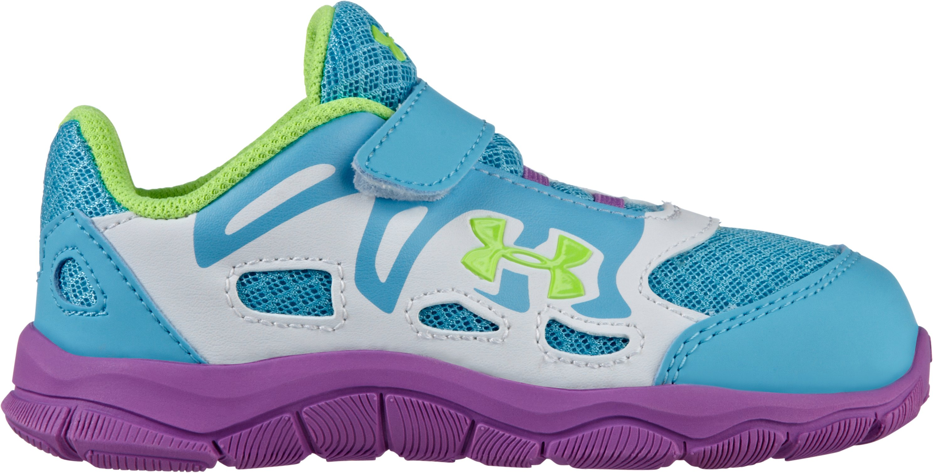 Girls' Infant UA Engage Running Shoes, Cruise, undefined