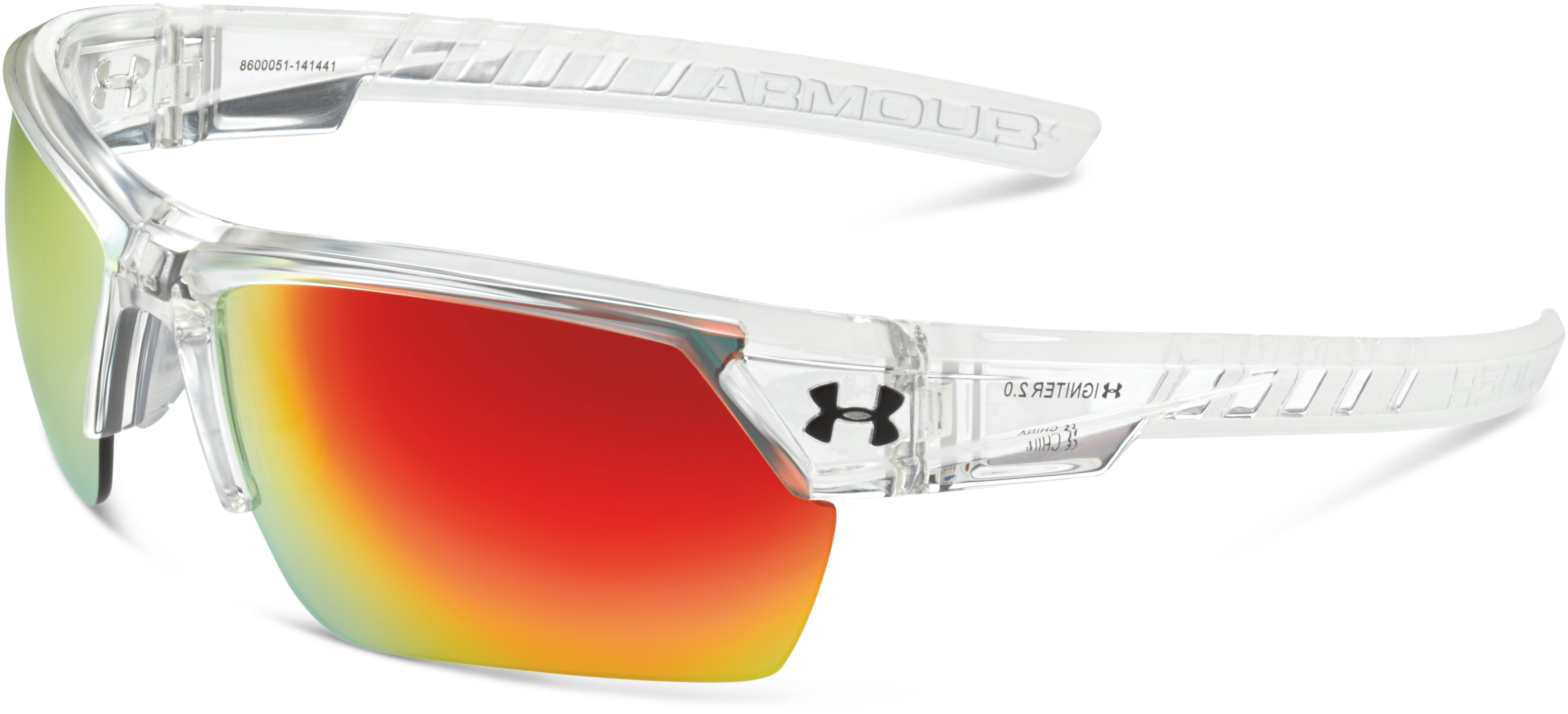 UA Igniter 2.0 Sunglasses, SHINY CRYSTAL CLEAR