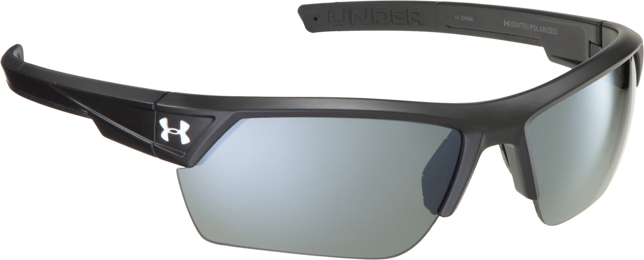 UA Igniter 2.0 Polarized Sunglasses, Satin Black