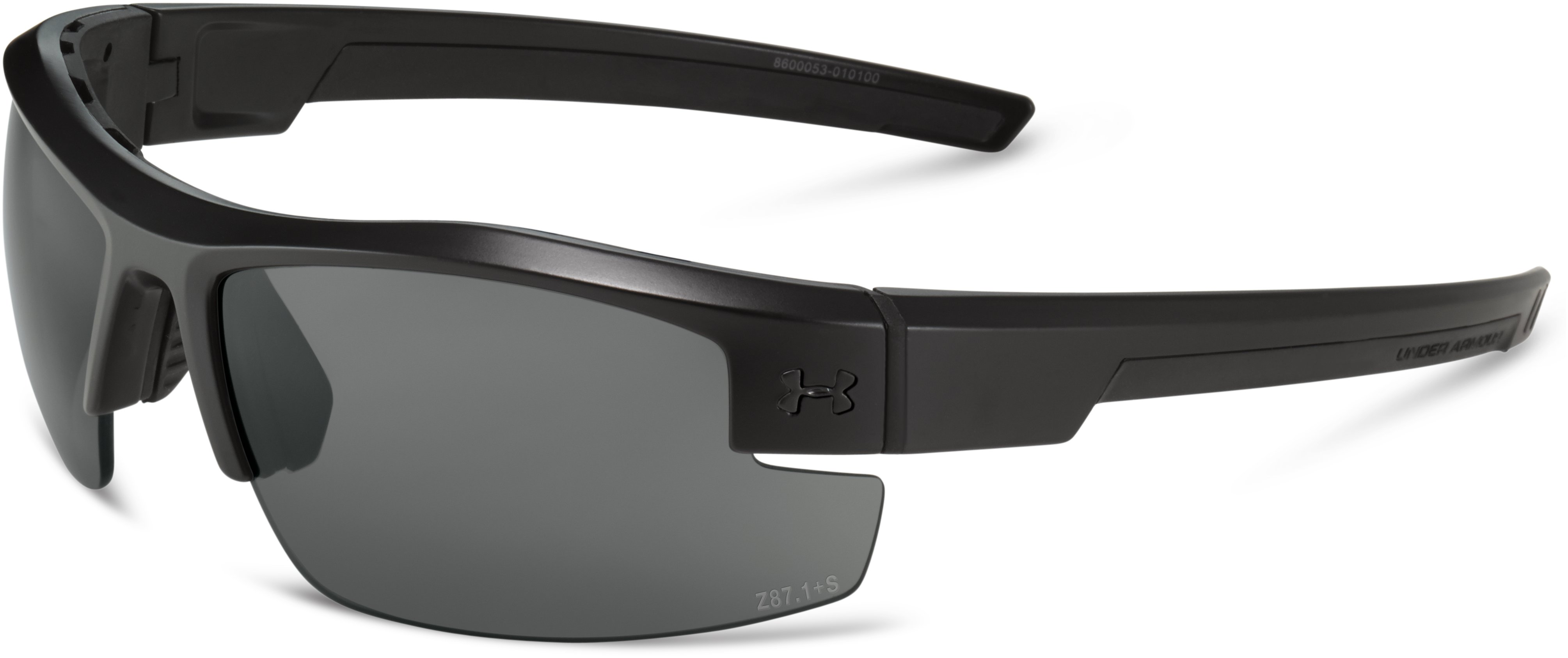 UA Reliance Tactical Sunglasses, Satin Black, undefined