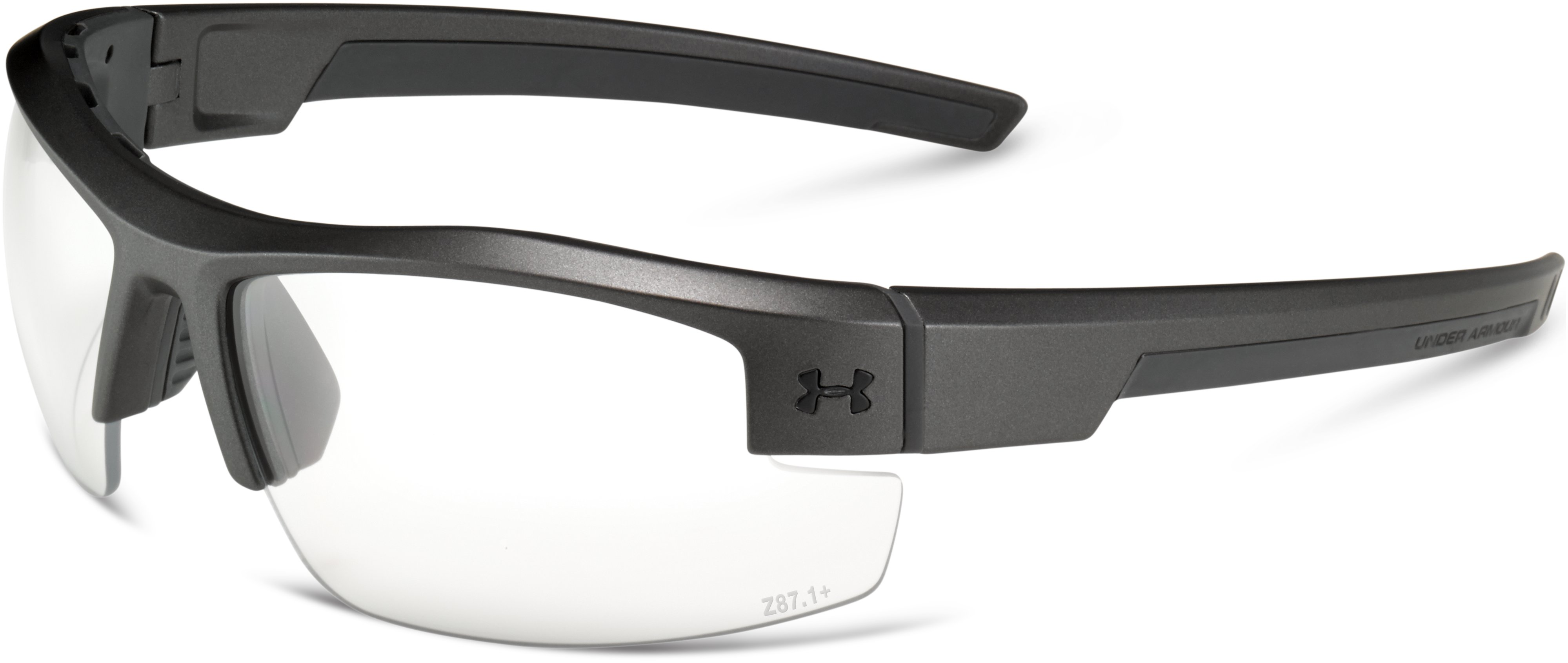 UA Reliance Tactical Sunglasses, Carbon, zoomed image