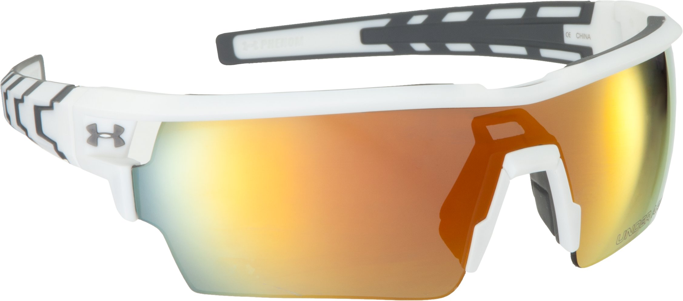 UA Phenom Sunglasses, Shiny White, undefined