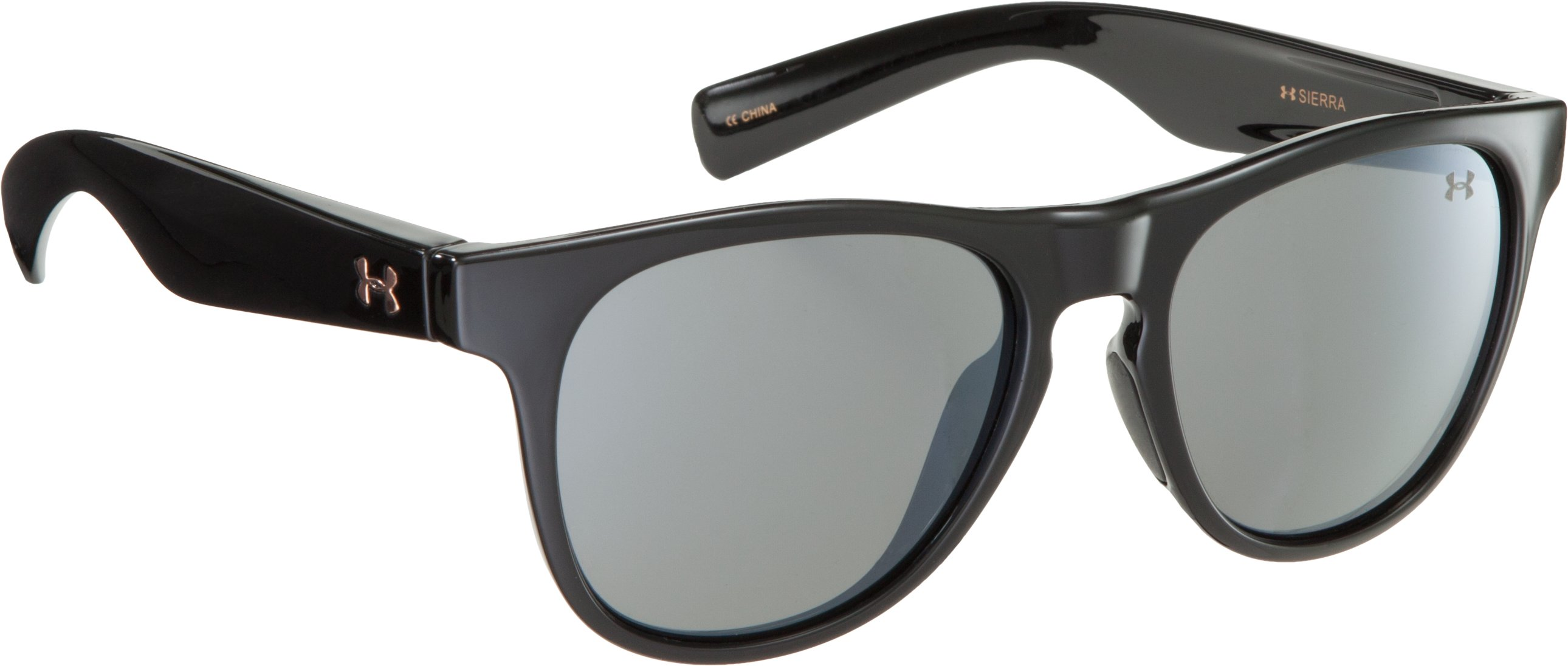 Women's UA Sierra Sunglasses, Shiny Black