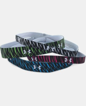 Women's UA Graphic Elastic Headband – 4pk LIMITED TIME: FREE SHIPPING  $10.49