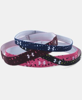 Women's UA Graphic Elastic Headband – 4pk