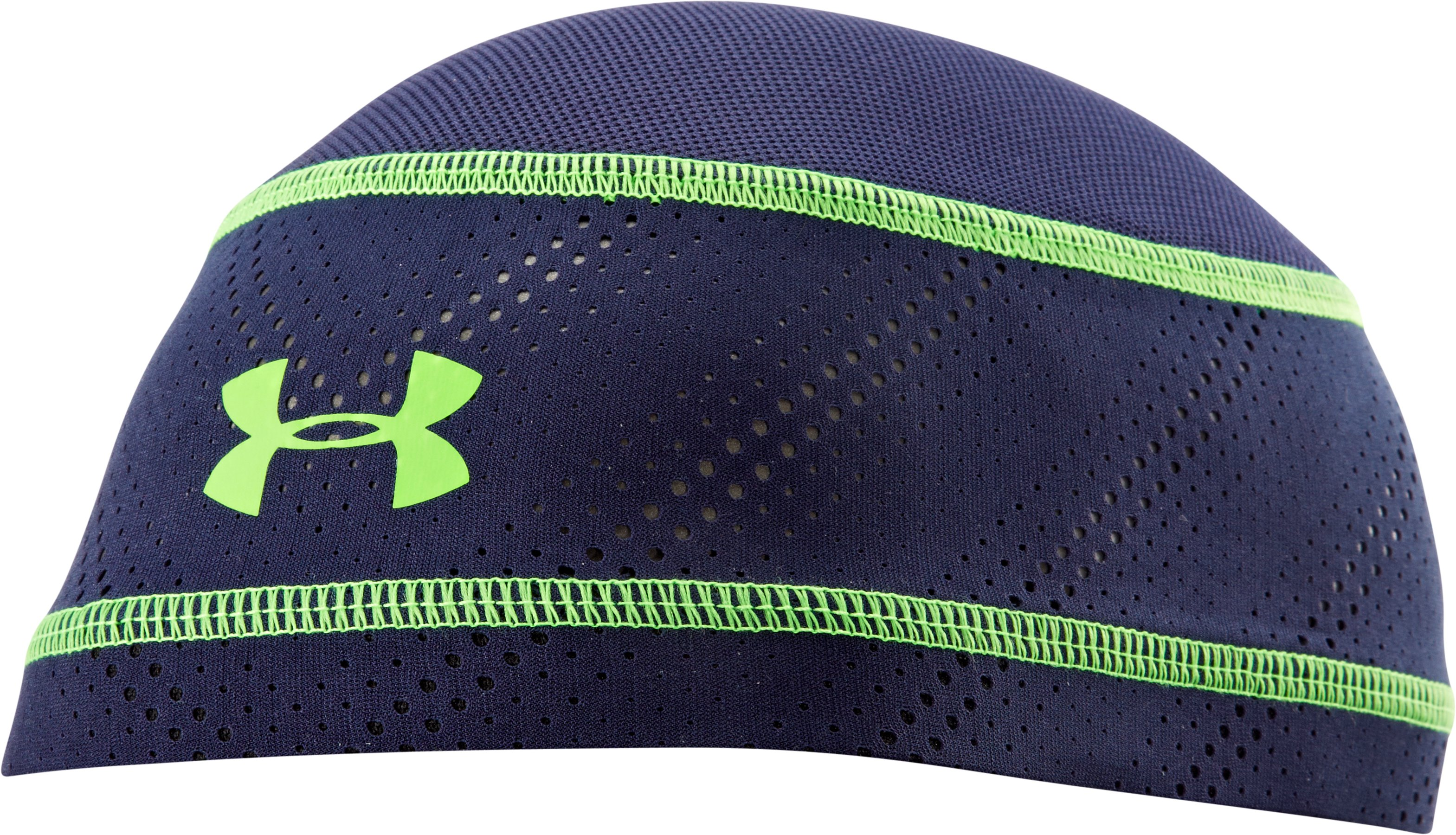 Men's HeatGear® ArmourVent™ Skull Cap, Midnight Navy