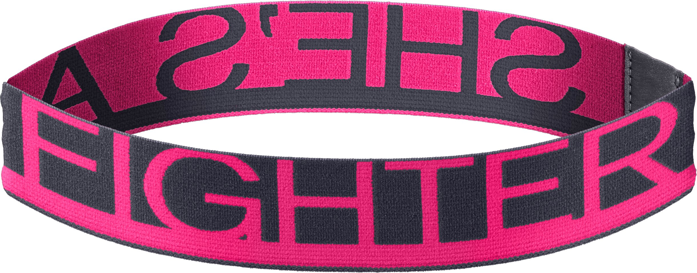 Women's UA Power In Pink® Wordmark Headband, Lead