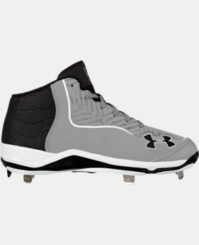 Men's UA Ignite Mid ST CC Baseball Cleats LIMITED TIME: FREE U.S. SHIPPING 1 Color $52.99