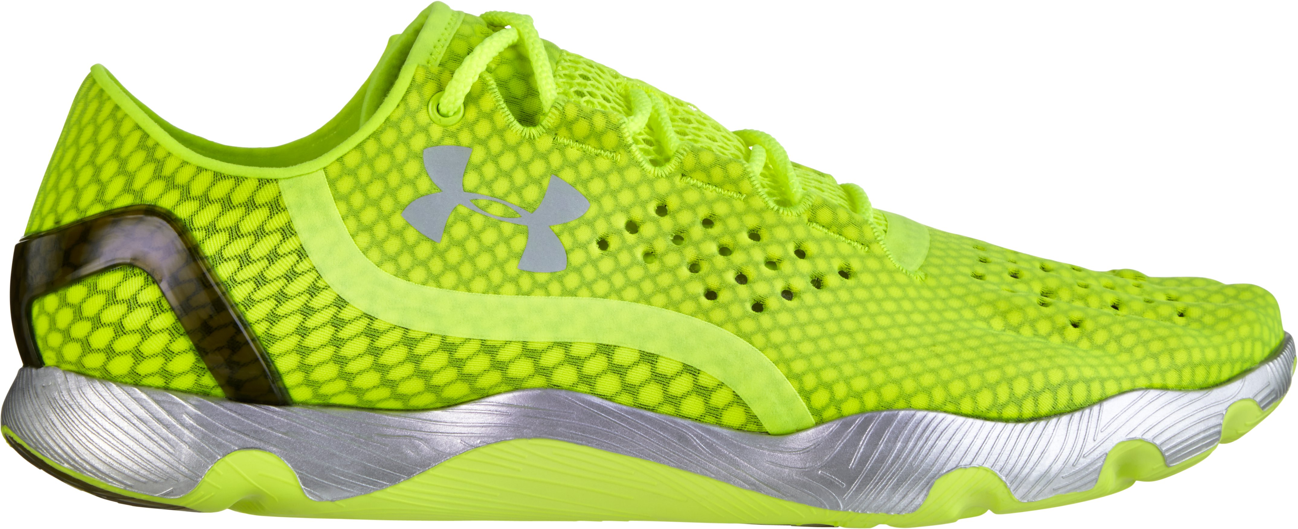 UA SpeedForm® RC Running Shoes, High-Vis Yellow, zoomed image