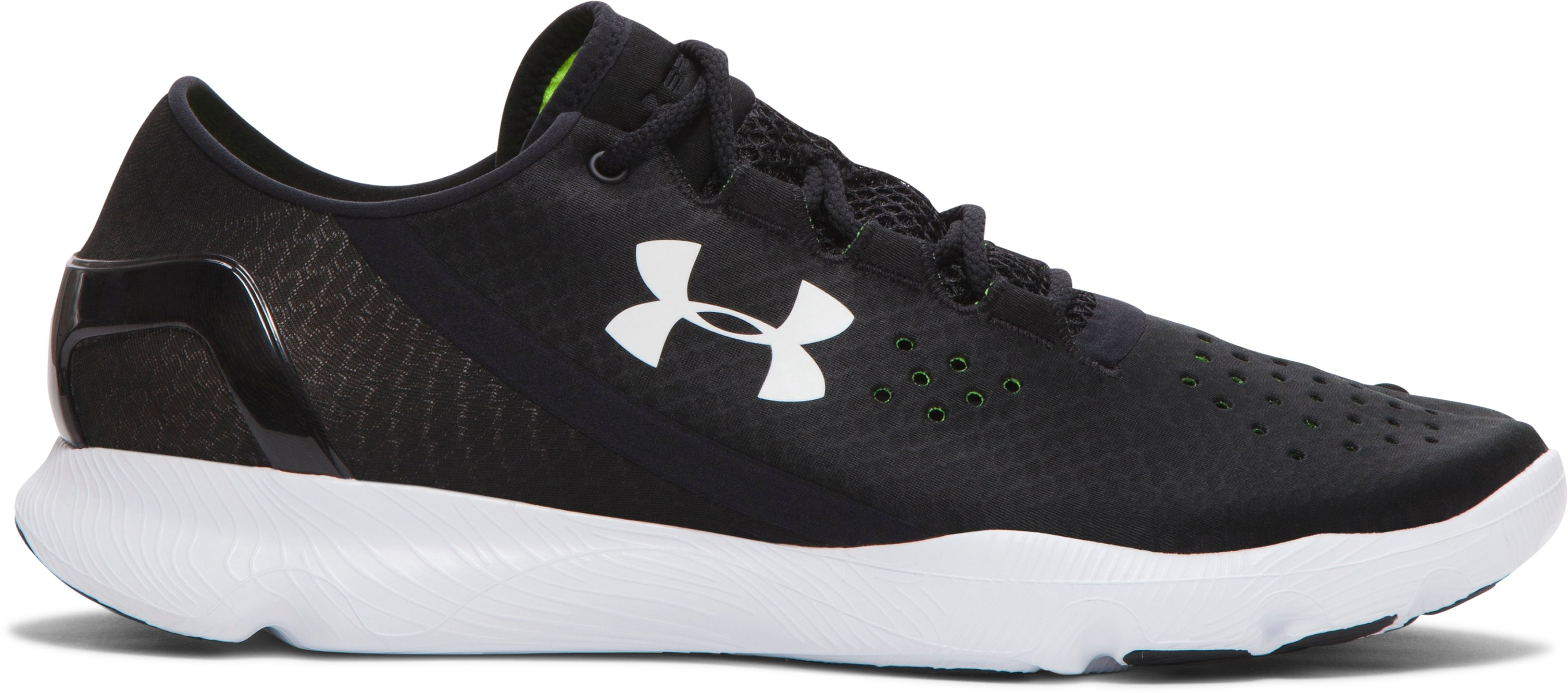Men's UA SpeedForm™ Apollo Running Shoes, Black