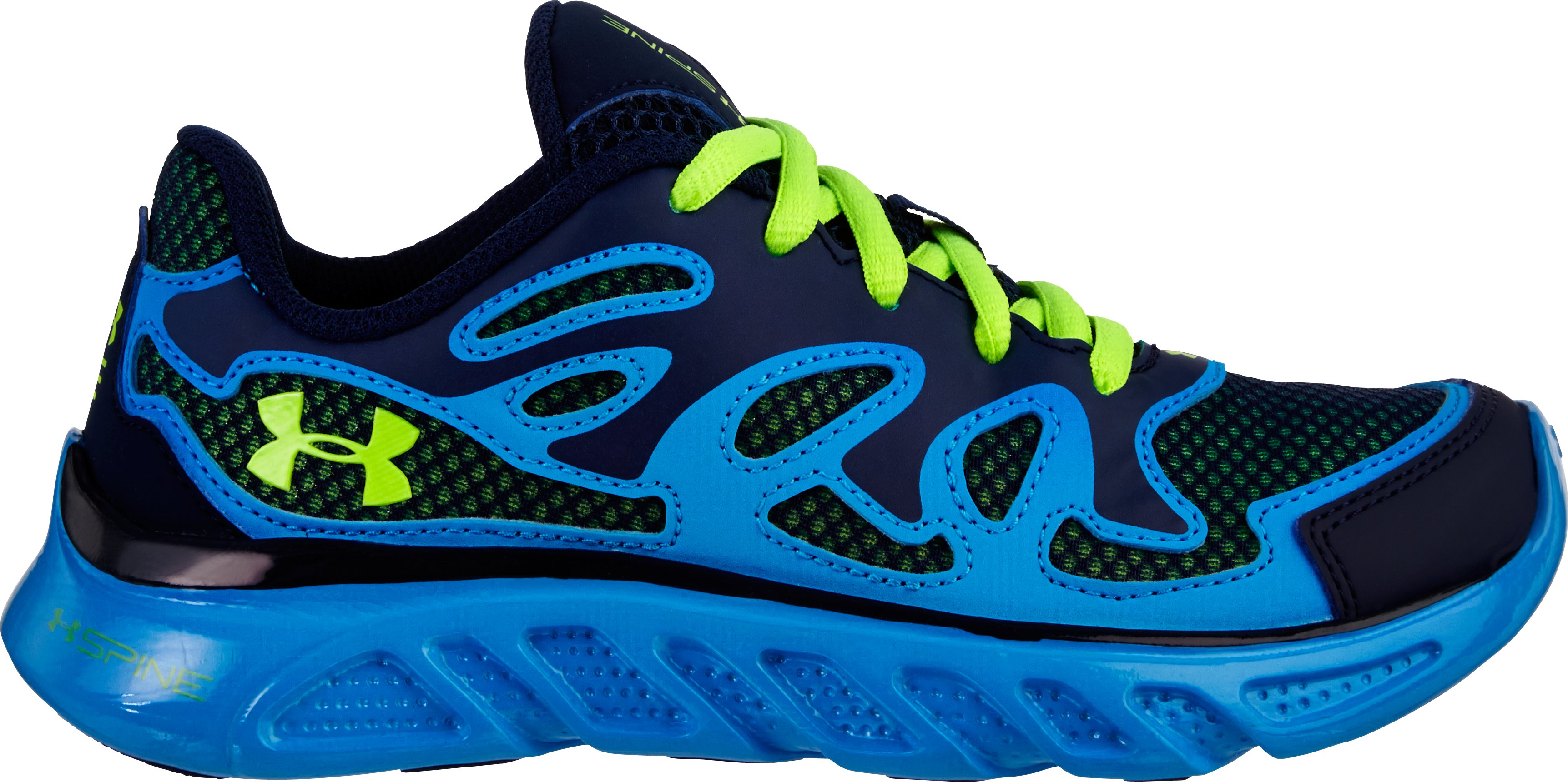 Boys' UA Spine™ Evo Pre-School Shoes, Midnight Navy, zoomed image