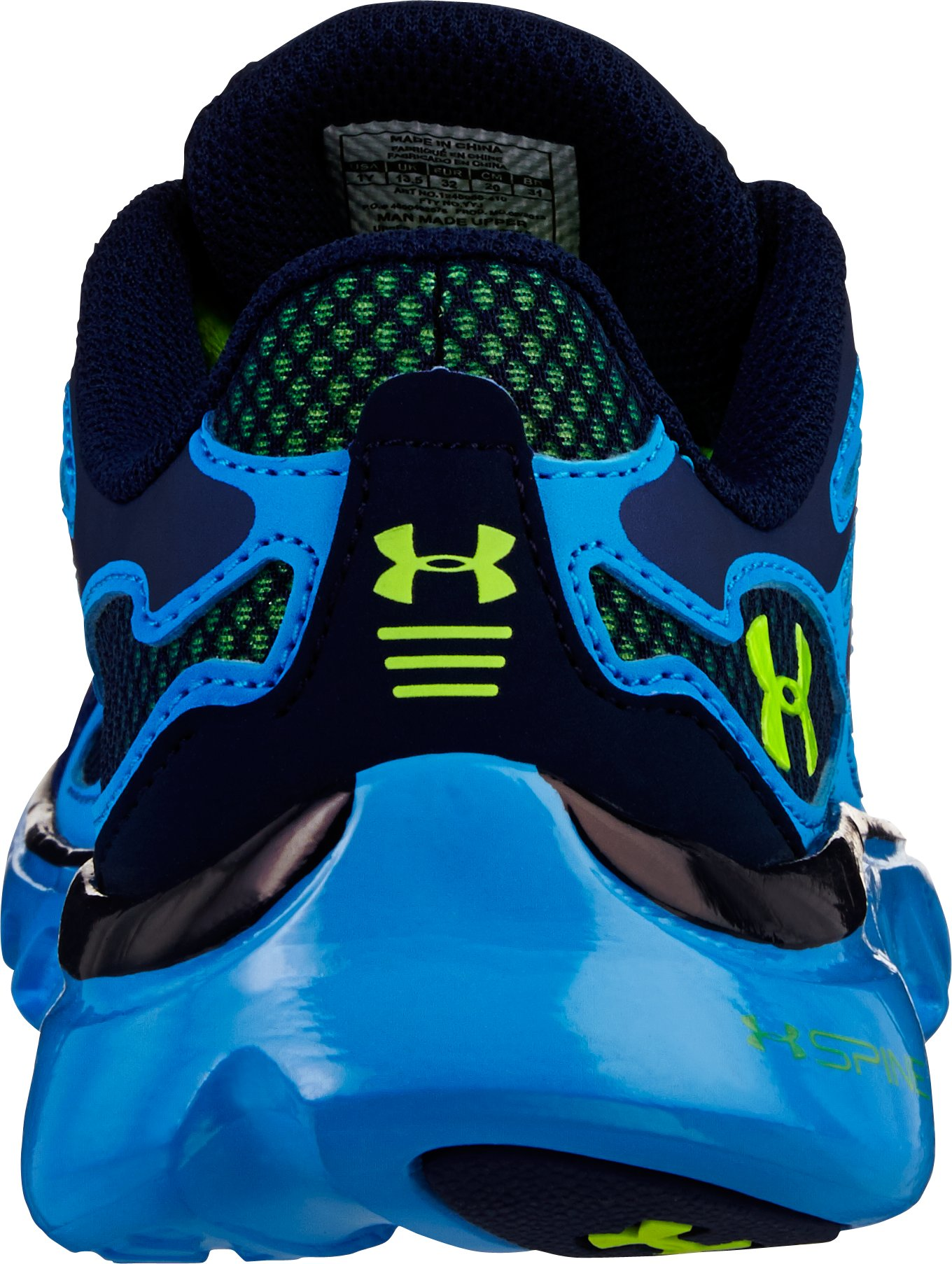 Boys' UA Spine™ Evo Pre-School Shoes, Midnight Navy