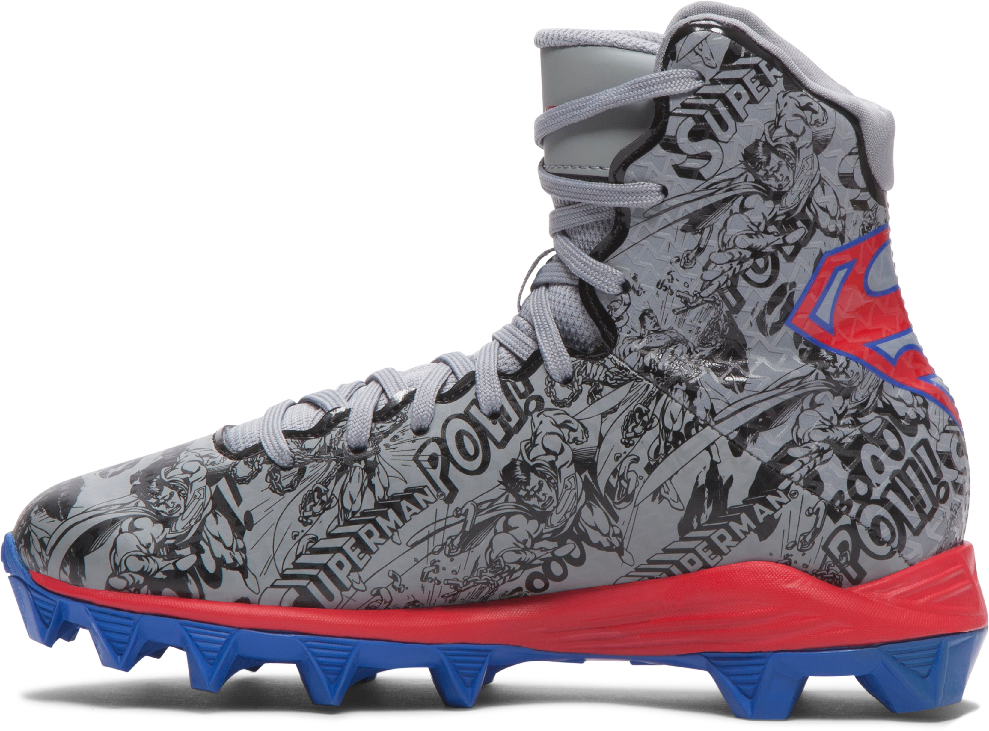 Kids' Under Armour® Alter Ego Highlight RM Cleats, Graphite