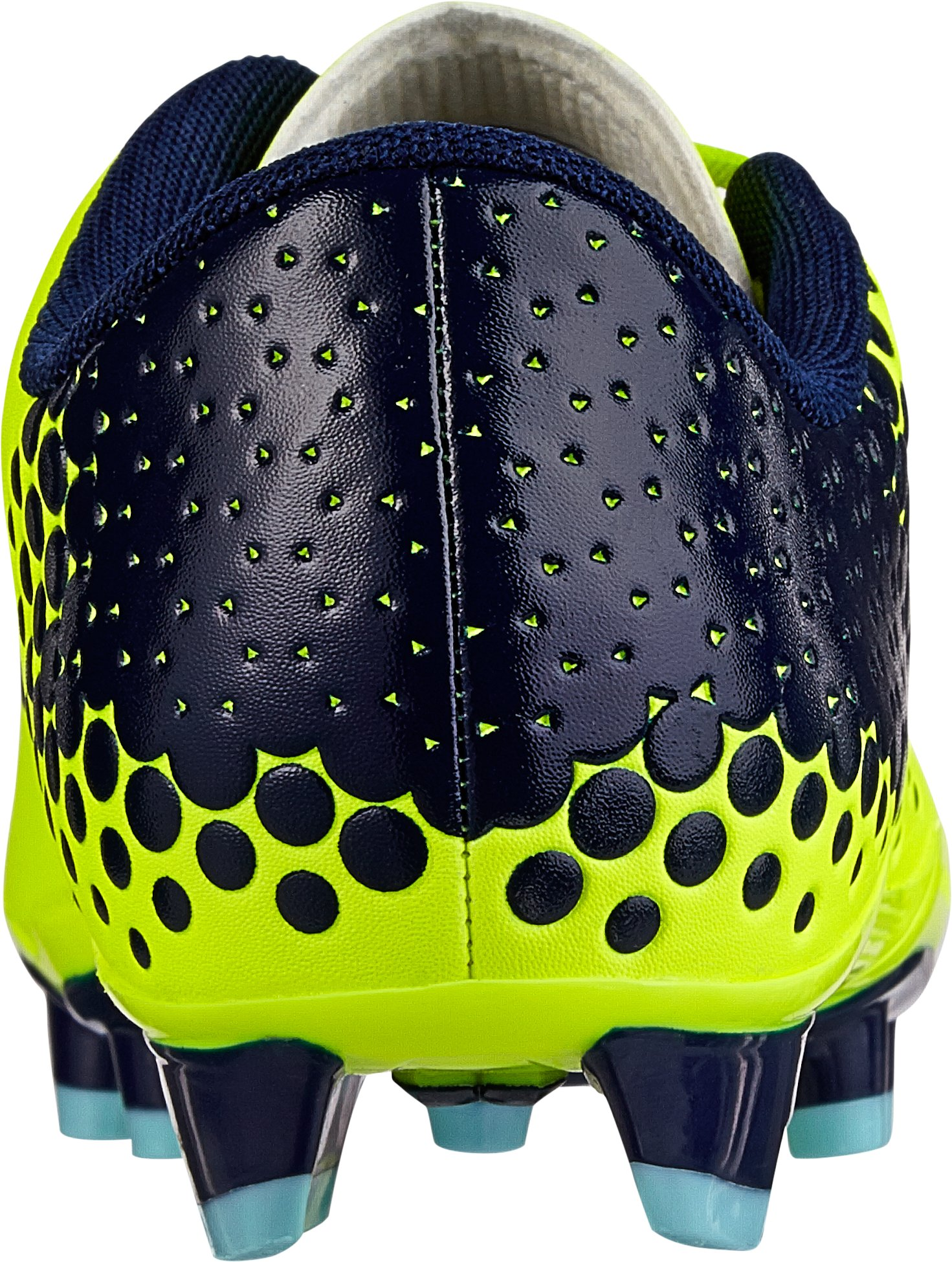 Kids' UA Blur Flash IV Soccer Cleats, High-Vis Yellow