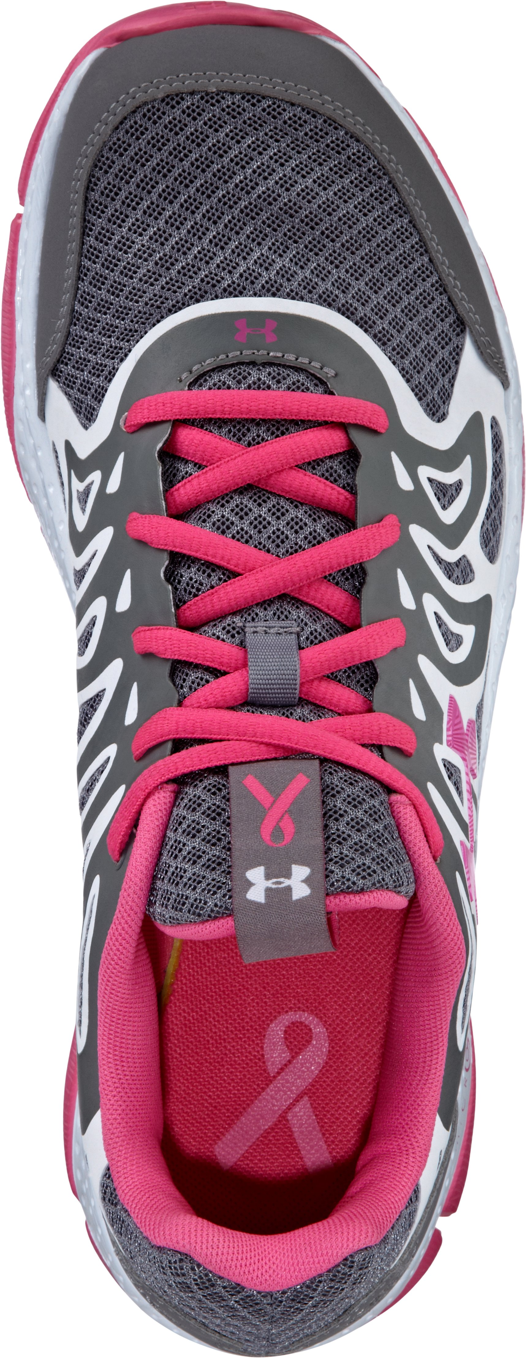 Women's UA Power In Pink® Micro G® Engage Running Shoe, Graphite,