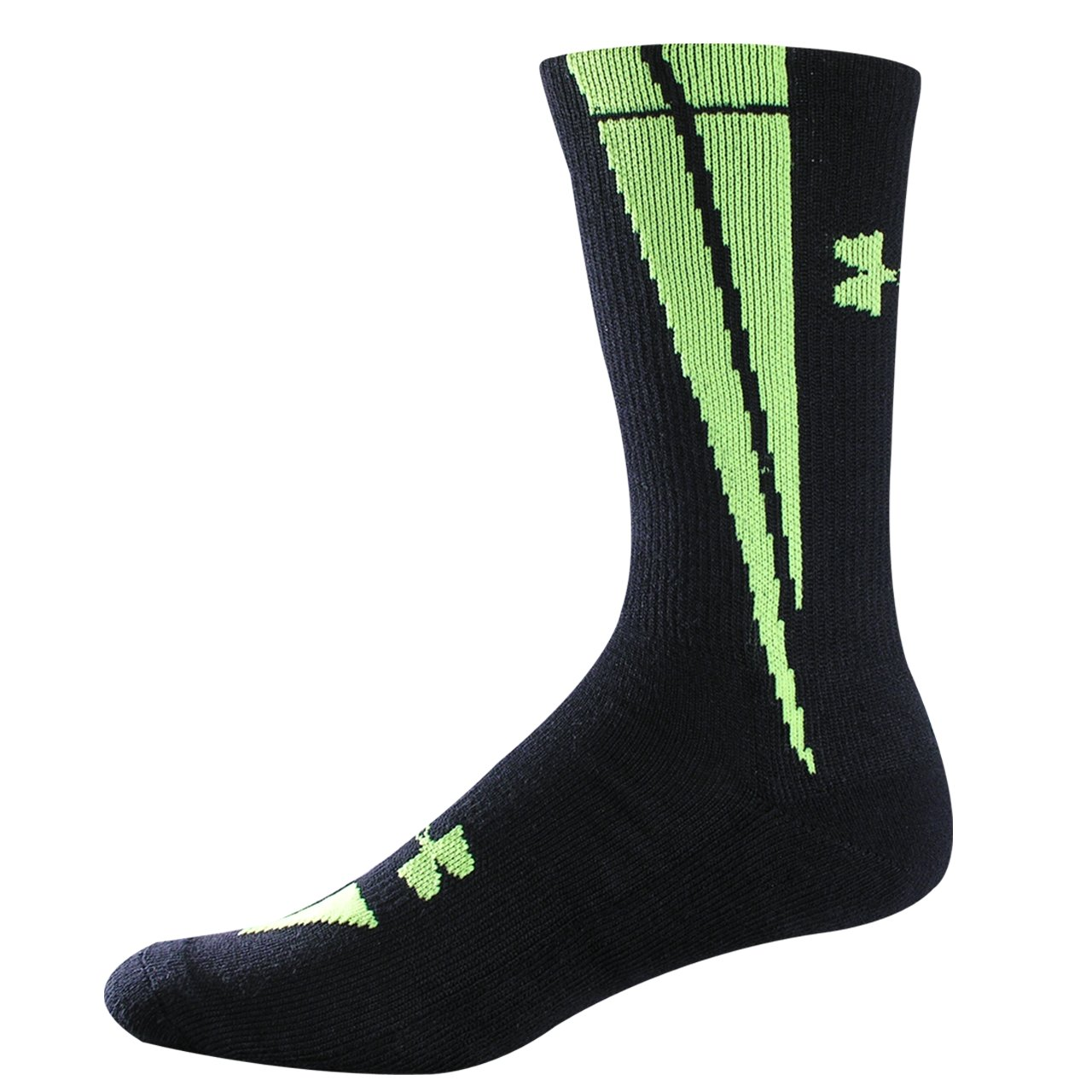 UA Ignite Crew Socks, Black
