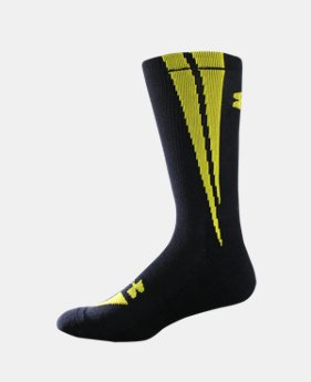 UA Ignite Crew Socks  1 Color $7.99
