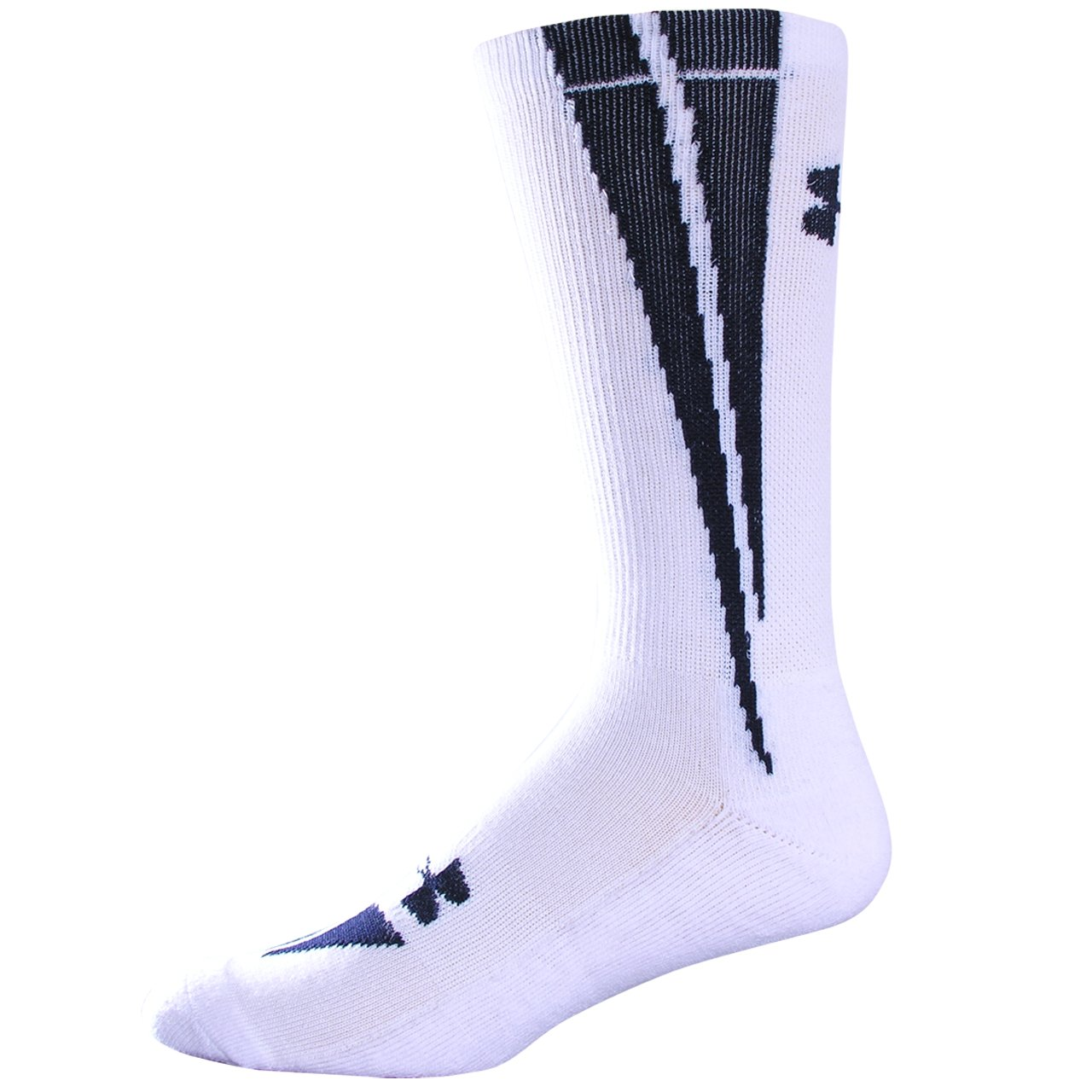 UA Ignite Crew Socks, White