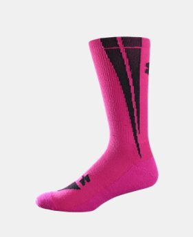 UA Ignite Crew Socks LIMITED TIME: FREE U.S. SHIPPING 1 Color $7.99
