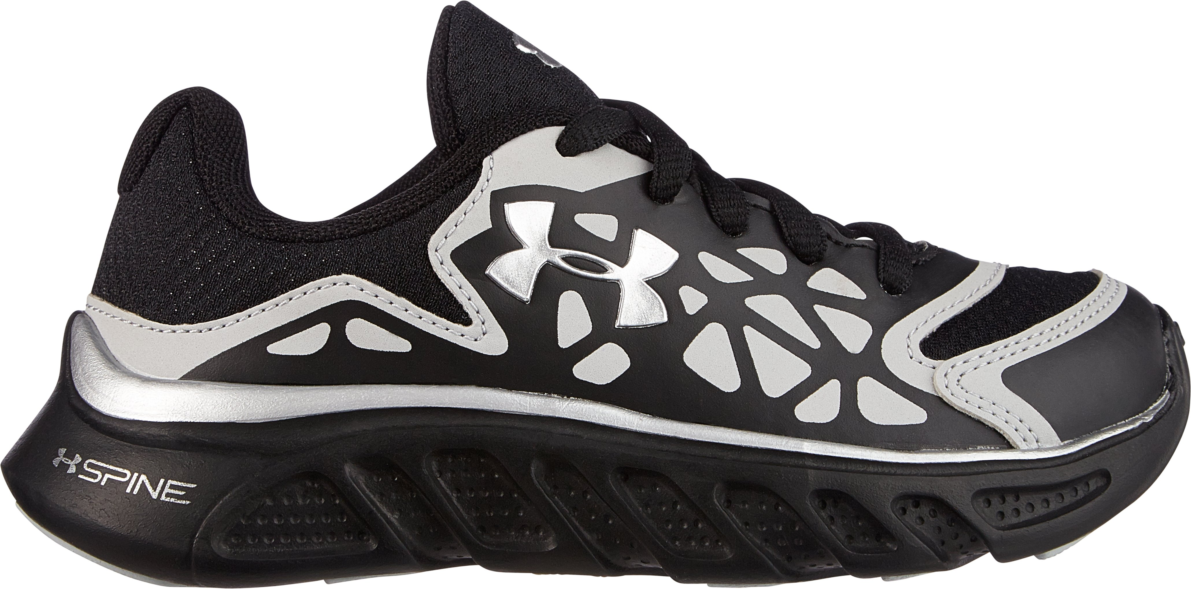 Boys' Pre-School UA Spine™ Surge Shoes, Black