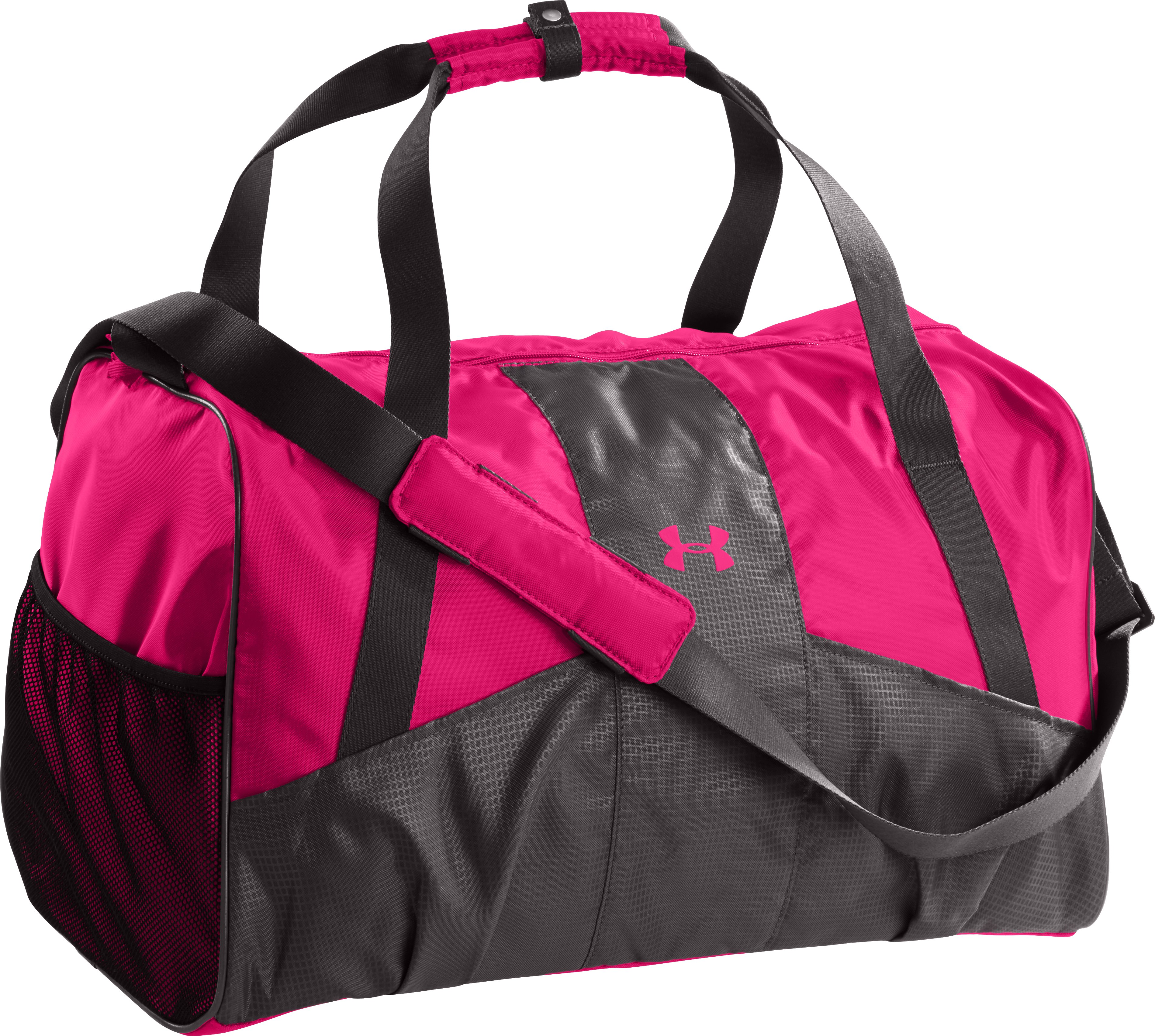 Women's UA Great Escape II Duffle, Charcoal, zoomed image
