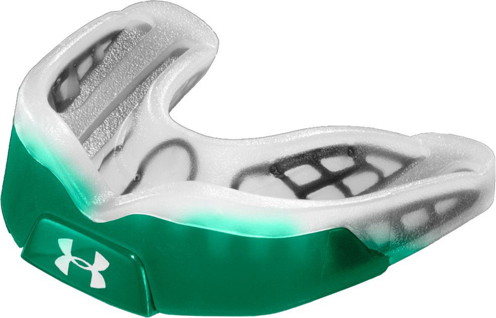 UA ArmourBite® Mouthguard, Forest Green, zoomed image