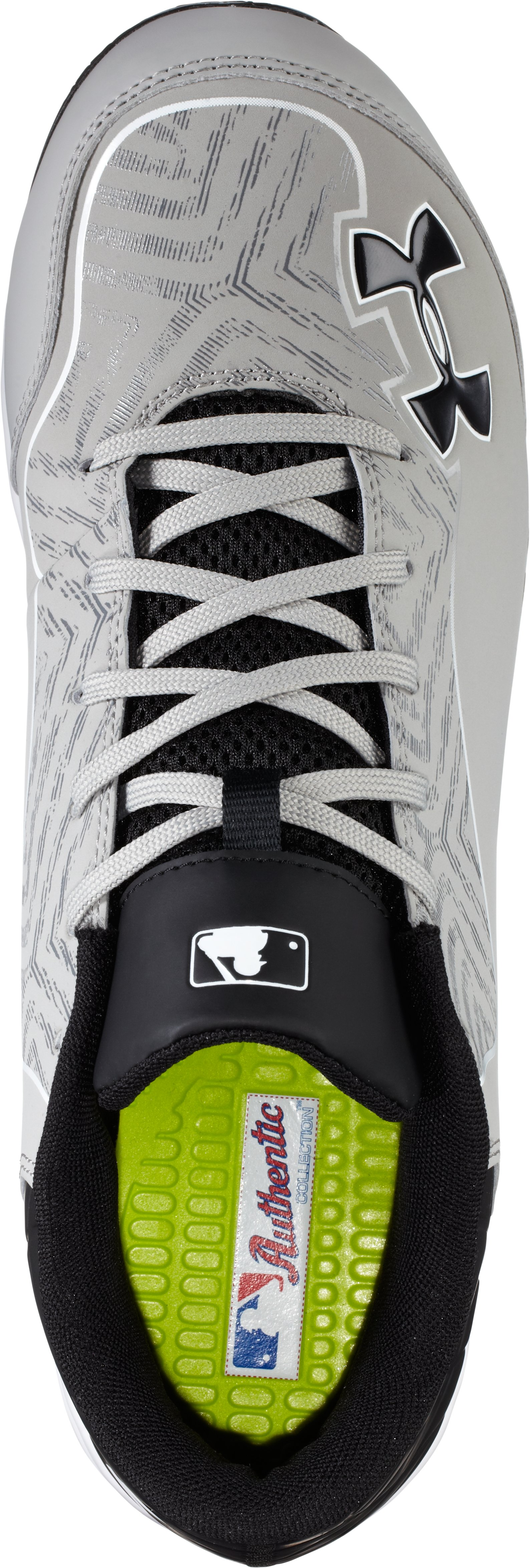 Men's UA Ignite Low ST CC Baseball Cleats, Baseball Gray,