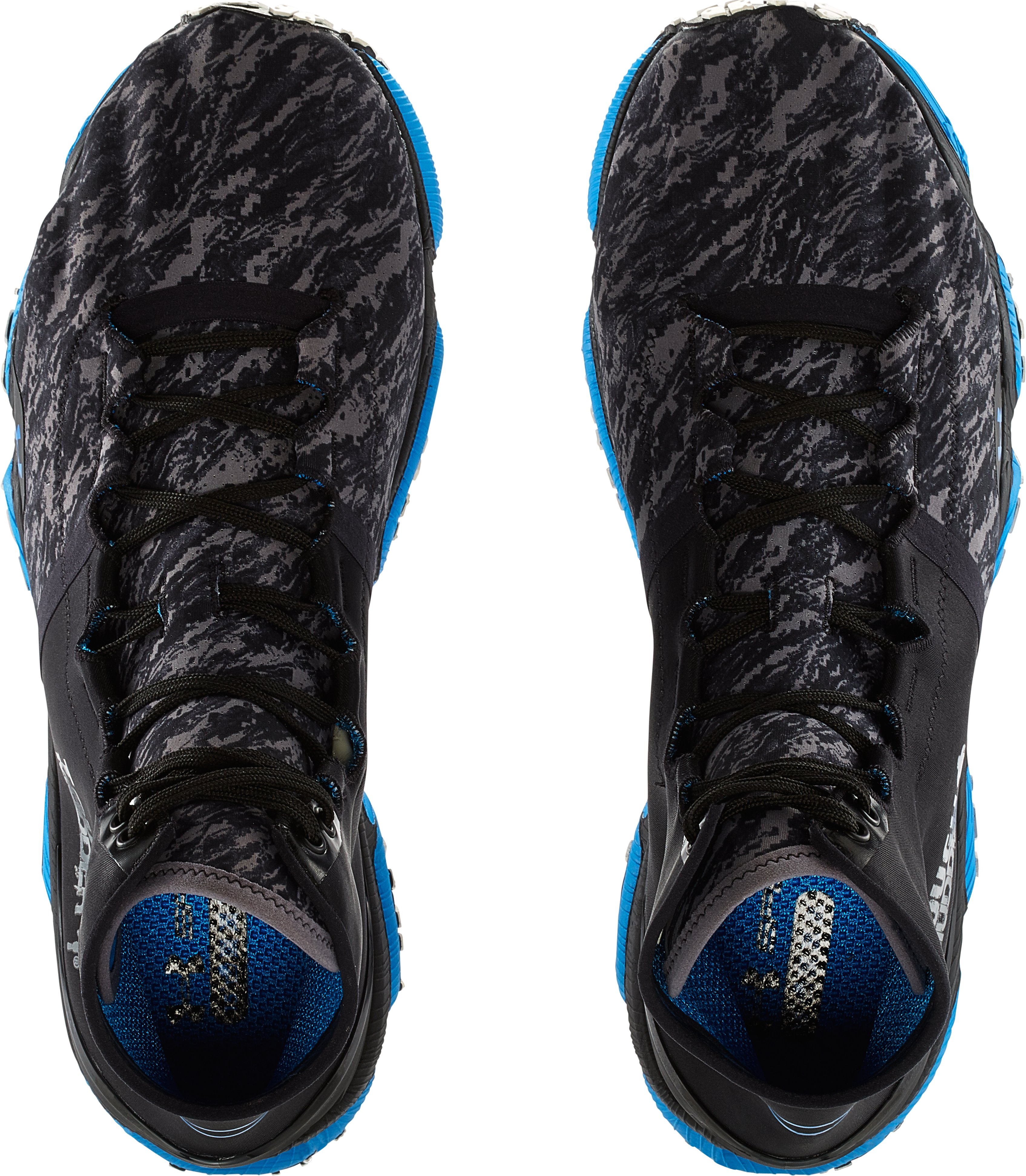 Men's UA SpeedForm™ XC Mid Trail Running Shoes, Black , undefined