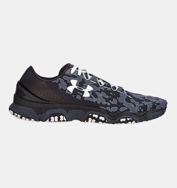 Men S Ua Sdform Xc Trail Running Shoes Black