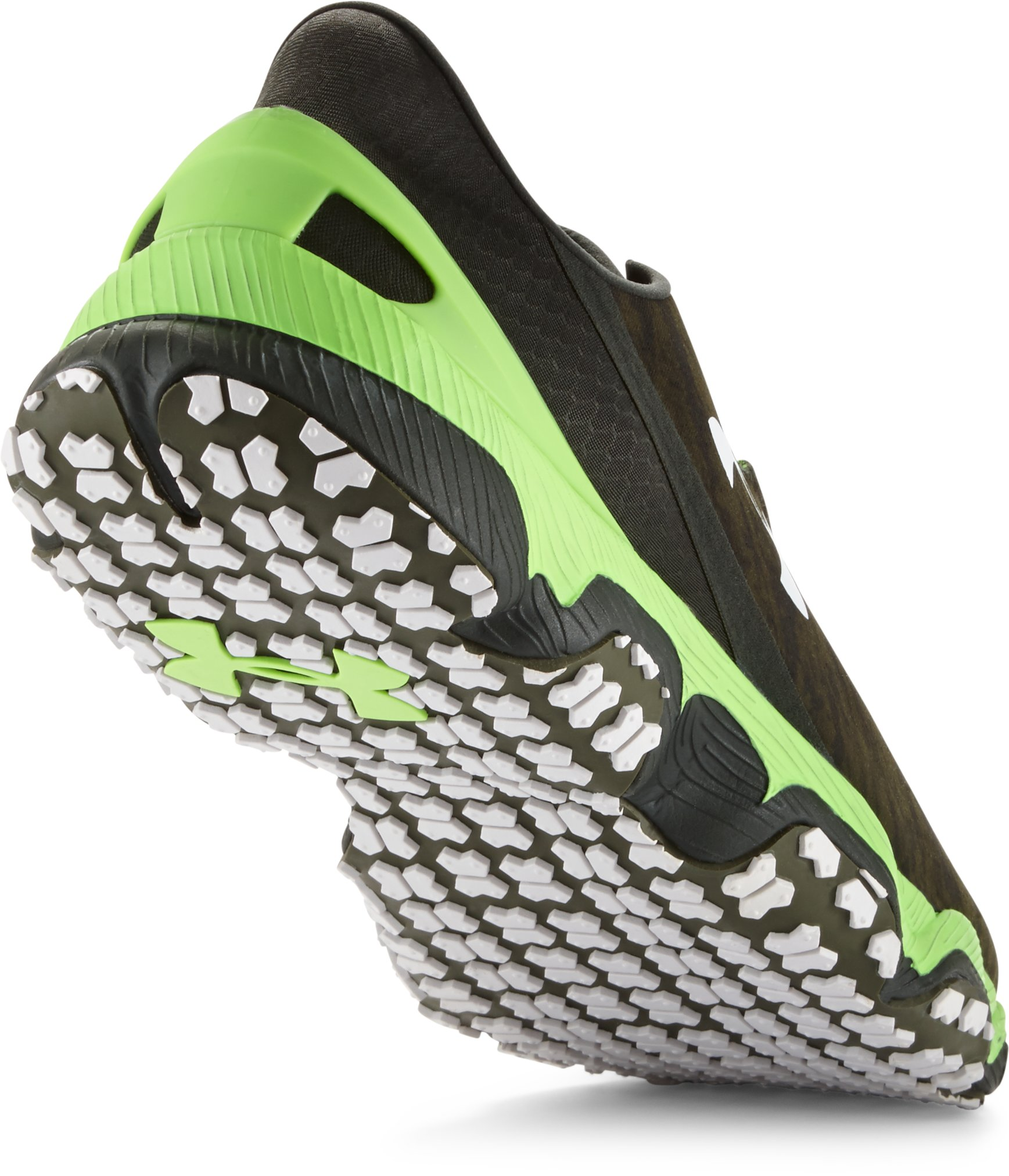 Men's UA SpeedForm® XC Trail Running Shoes, GREENHEAD